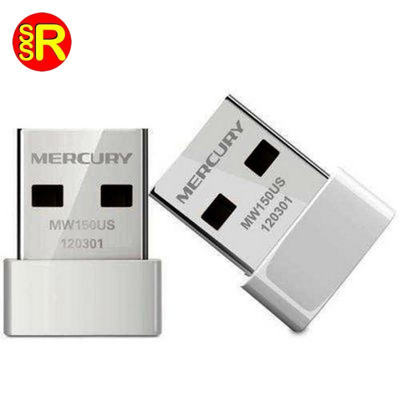 Bộ Thu Wifi Không Dây Chuẩn N Mini USB Mercusys MW150US (150Mbps)