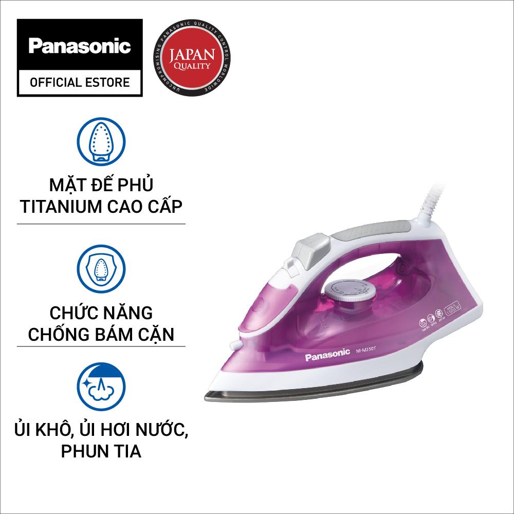 Bàn Ủi Hơi Nước Panasonic NI-M250TPRA – Bảo Hành 12 Tháng – Hàng Chính Hãng