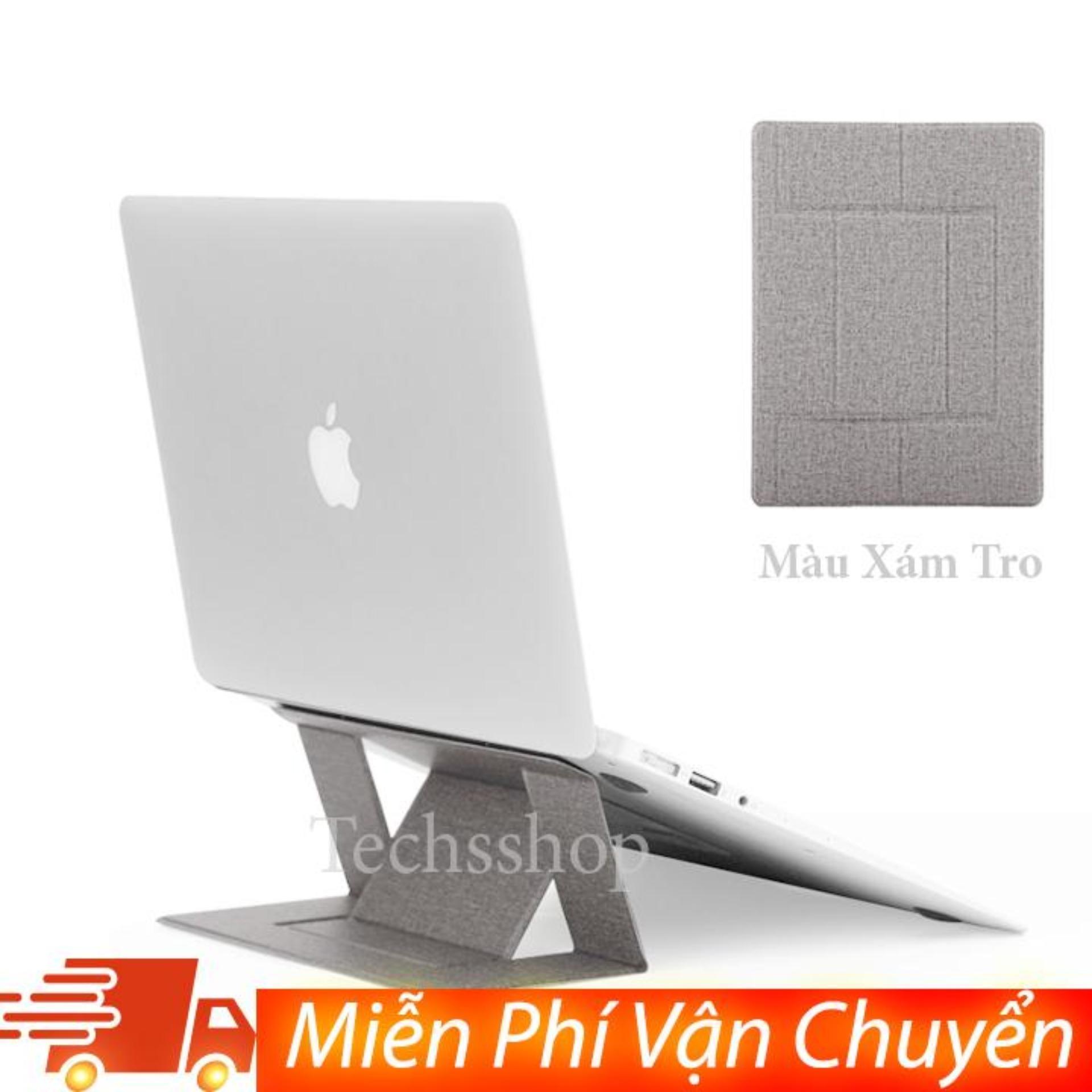 Đế tản nhiệt laptop , macbook gấp gọn đa năng từ 11 đến 16 inch điều chỉnh được độ nghiên...