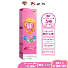 [HỘP DÙNG THỬ] Sữa bột chuyên biệt cho trẻ biếng ăn, chậm cân Mama Sữa Non Colos Multi Pedia Gold hộp 2 gói x 16g