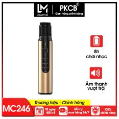 Micro karaoke kèm loa bluetotoh cao cấp âm thanh vượt trội PKCB PF1018 – Hàng chính hãng