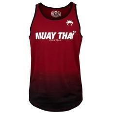 Áo Venum Muay Thai VT Tank Top – Red/Black