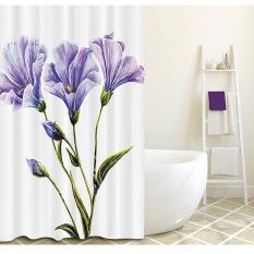 Màn phòng tắm – Rèm phòng tắm nhà tắm in họa tiết cao cấp chống thấm nước – havihavi