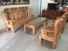 Bộ bàn ghế Minh Quốc Đào gỗ sồi