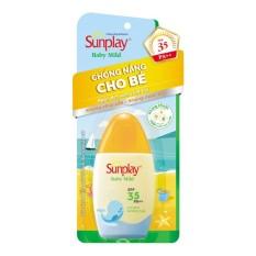Kem Chống Nắng Cho Bé Sunplay Baby Mild Spf 35 Pa+++