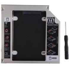 Caddybay mỏng 9.5mm chuẩn SATA dùng để lắp thêm 1 ổ cứng / SSD thay vào vị trí của ổ DVD