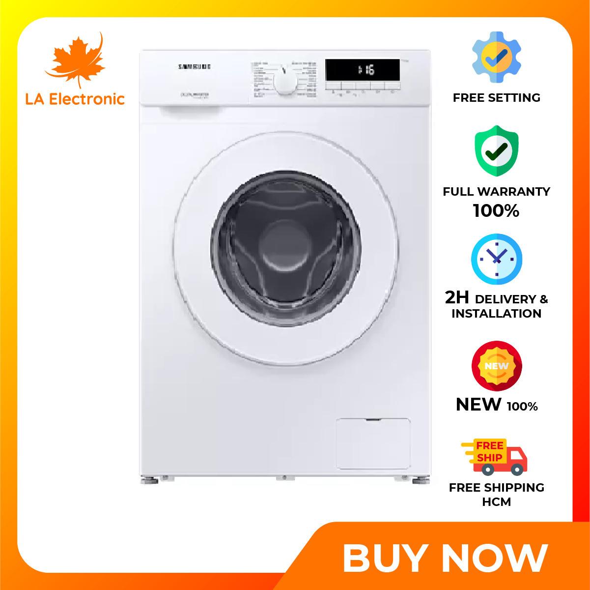 Trả Góp 0% – Máy giặt Samsung Inverter 8 kg WW80T3020WW/SV Mới 2020- Bảo hành 2 năm – Miễn phí vận chuyển HCM