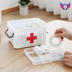 Hộp, tủ đựng thuốc y tế cứu thương dùng trong gia đình 9STORE