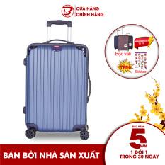 Vali du lịch BAMOZO 8809 nhựa cao cấp – Bảo hành 5 năm