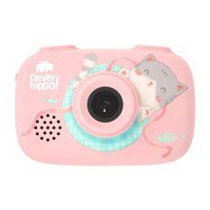 MY KINGDOM – Máy chụp hình thông minh – hồng dịu dàng CLEVER HIPPO TOY YT011/PK