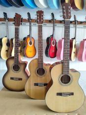 Guitar Acoustic Hồng Đào