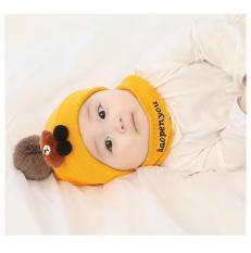 Bộ mũ + khăn len gấu Brown cho bé 3 tháng – 2 tuổi