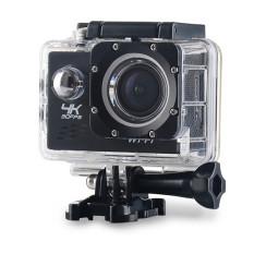 Camera hành động Waterproof 4K PLUS Sports WIFI LED 4K ULTRA HD DV (Đen)