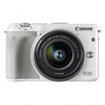 Địa Chỉ Bán Canon EOS M3 14.2MP với Lens kit 15-45mm IS STM (Trắng) – Hãng Phân phối chính thức