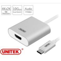 Cáp tín hiệu USB 3.1 Type C sang HDMI Adapter Unitek Y-6309