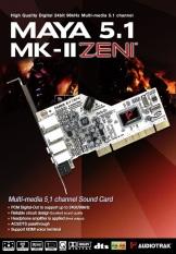 Card âm thanh Audiotrak Maya 5.1 MK-II Zen I