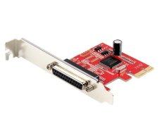 Card mạng chuyển đổi PCI-E sang LPT Unitek Y-7507 (Đỏ)