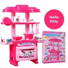 Đồ chơi bếp mini màu hồng