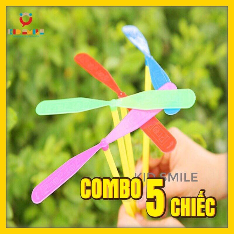 Đồ chơi combo 5 chiếc chong chóng tuổi thơ, đồ chơi vận động cho trẻ phát triển kỹ năng khéo...