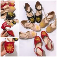Giày sandal cao gót cho bé gái Sz28 00423t