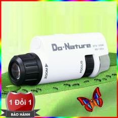 Kính hiển vi Mini 60-120x Kenko Do Nature STV-120M công nghệ Nhật Bản – Ống kính hiển vi quan sát đặc điểm sinh vật STV 120M