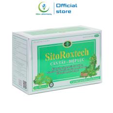 Cốm giảm cân SitoRoxtech Cần tây Diệp lục giảm mỡ máu, giảm nguy cơ béo phì – Hộp 30 gói