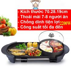 Bếp lẩu nướng không khói Hàn quốc loại to