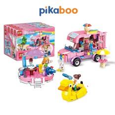 Đồ chơi xếp hình cho bé gái Pikaboo chất liệu cao cấp an toàn, thiết kế vô cùng đáng yêu
