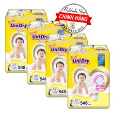 Combo 4 Gói Tã dán Unidry S48/M42/L38/XL34