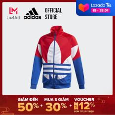 adidas ORIGINALS Large Trefoil Track Top Unisex trẻ em Màu đỏ GD2706