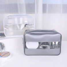 Túi đựng mỹ phẩm đồ du lịch Different Populations chống nước, trong suốt, đựng đồ cá nhân trang điểm PVC cao cấp