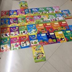 Bộ 8 Quyển Tập Tô Màu -Tô Số -Tô Chữ -Dành cho bé từ 3-6 tuổi (Có Phân Loại Độ Tuổi )