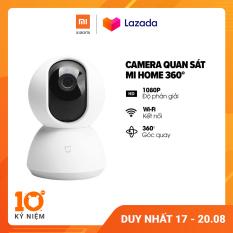 Camera giám sát Xiaomi Mi Home 360 độ 1080P l Thẻ nhớ Micro SD hỗ trợ 64GB l Hỗ trợ kết nối wifi l HÀNG CHÍNH HÃNG