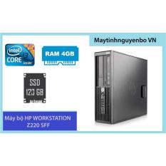 Máy bộ HP WORKSTATION Z220 SFF Core i3, Ram ECC 4GB, SSD 120GB