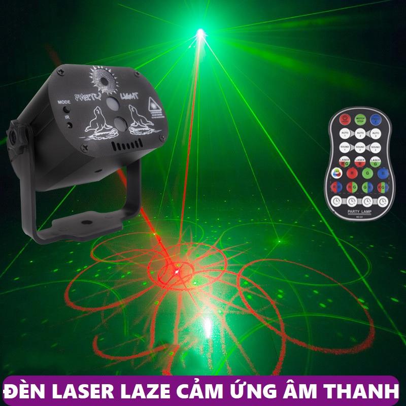 Đèn chiếu laser vũ trường cảm ứng nhạc - Đèn sân khấu hàng nhập cao cấp