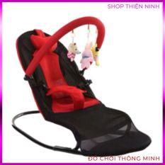 [CAM KẾT CHẤT LƯỢNG] Ghế rung nhún cao cấp có thanh treo +Tặng kèm đồ chơi cho bé, GHẾ NÔI điều chỉnh được