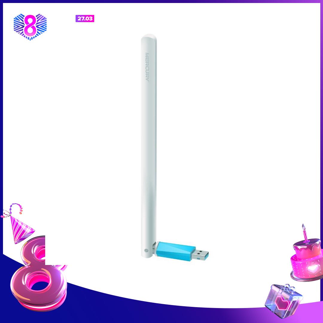 Bộ thu sóng wifi Mercury MW150UH dành cho PC (Tự nhận Driver)
