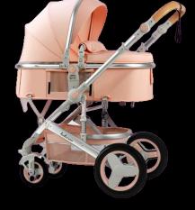 Xe đẩy cho bé Belecoo nôi gấp gọn 2 chiều có mái che 3 tư thế cho bé từ sơ sinh-4 tuổi chịu lực 25kg xe đẩy du lịch baby trolley, xe đẩy em bé, xe đẩy bé sơ sinh, xe đẩy bé ăn dặm, Zozon phân phối chính hãng
