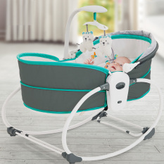 Nôi em bé tự động 5 trong 1 Mastela 6033/6037/6038 cao cấp nhập khẩu chính hãng