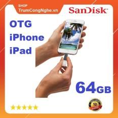 USB Otg 3.0 Sandisk Ixpand mini 64gb for iphone / ipad (SDix40n) ( USB 2 đầu) cam kết hàng đúng mô tả chất lượng đảm bảo an toàn đến sức khỏe người sử dụng đa dạng mẫu mã