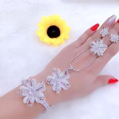 Bộ trang sức bạcMidoshop KB428051907 – đeo làm công sở cực sang chảnh và quý phái
