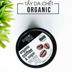 Tẩy Da Chết Organic Shop – Organic Coffee & Sugar Body Scrub