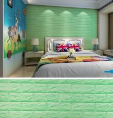 Miếng xốp mỏng dán tường cách âm ,cách nhiệt 3D phong cách Hàn Quốc-khổ 70x77cm dodiengiasi (loại Mỏng + nhiều màu đẹp bạn dễ lựa chọn)