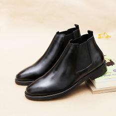 Giày Boot Cao Cổ Da Bò Thật 100% Nguyên Tấm 2H – 53