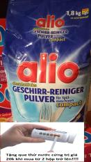Bột rửa bát Alio túi 1.8kg cho máy rửa bát