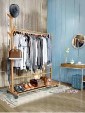 Cây treo quần áo gỗ