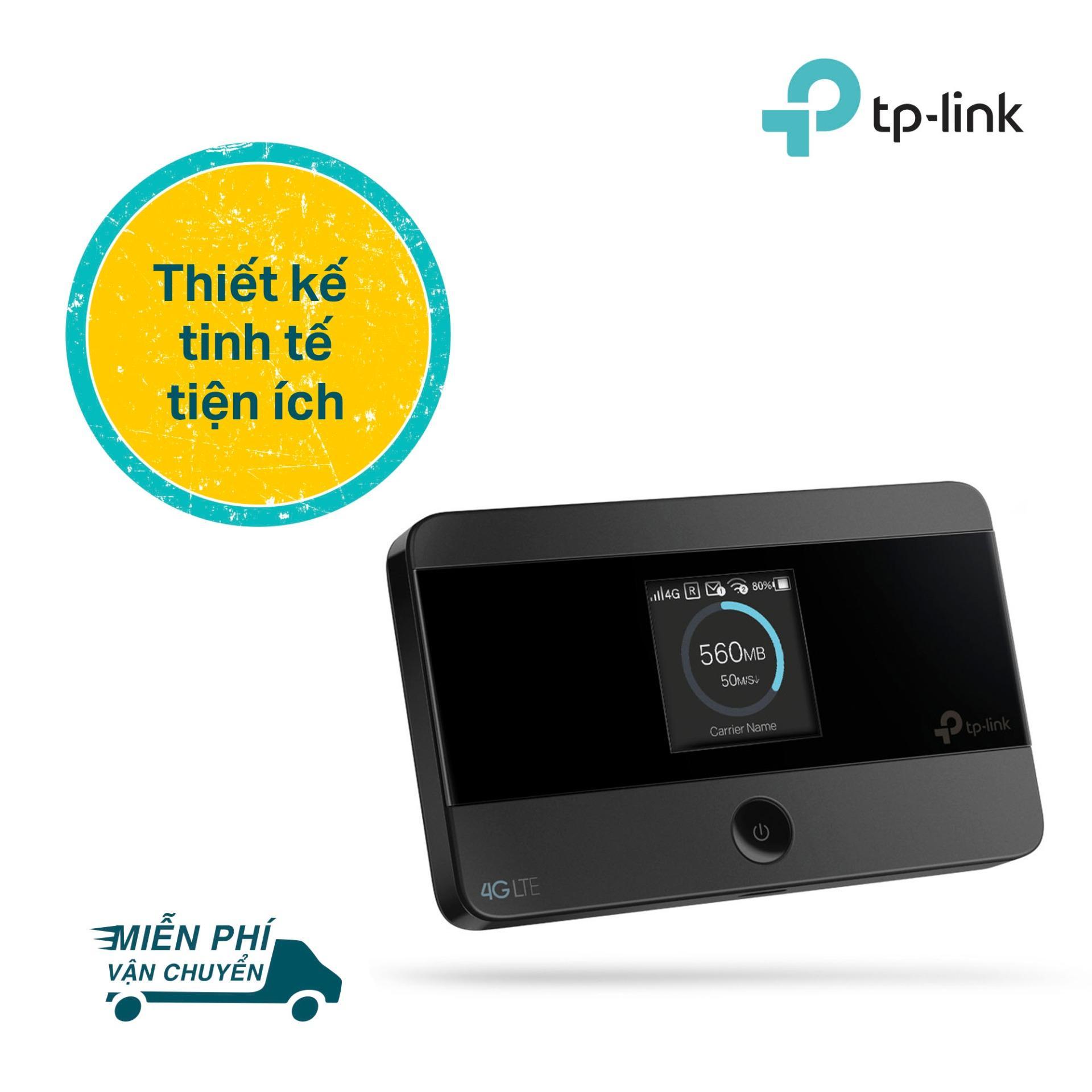 TP-Link bộ phát Wi-Fi di động 4G LTE cho kết nối Wifi siêu nhanh - M7350 - Hãng phân phối...