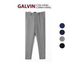 Galvin Store – Quần âu nam chính hãng , quần tây dáng ôm trẻ trung lịch lãm không nhăn co giãn nhẹ QAGV3 – LEO VATINO