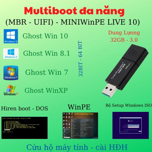 Bộ Công Cụ Cứu Hộ HENRIBOOT DLC BOOT – Dùng Cho Máy Tính Laptop