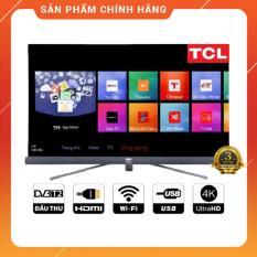 Smart Tivi TCL 49 inch Ultra HD 4K – Model L49C6-UF (Đen) Tích hợp DVB-T2, Wifi